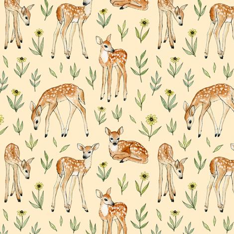 deer team fabric by alenaganzhela on Spoonflower - custom fabric