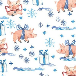 piglets and gifts