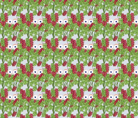 Iris-apple fabric by migoldblatt on Spoonflower - custom fabric