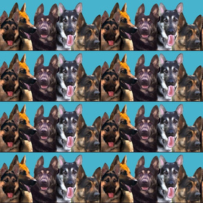 GSd Portraits fabric