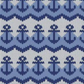 Anchor Fair Isle Sweater