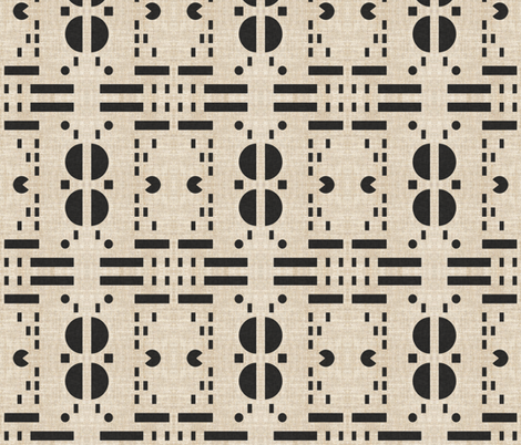 PLAYA CIRCLE SQUARE fabric by holli_zollinger on Spoonflower - custom fabric