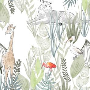 Hide and seek in the zoo