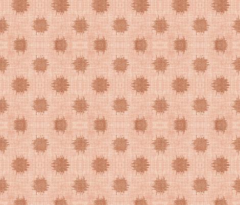 PLAYA POLKA PINK fabric by holli_zollinger on Spoonflower - custom fabric