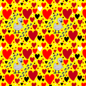 Ugly Duck Chick Heart Luv