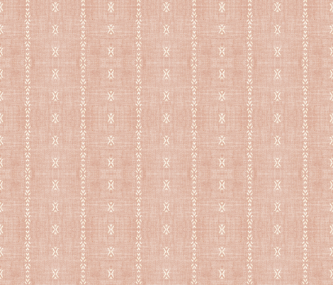 PLAYA TRIBAL STRIPE PINK fabric by holli_zollinger on Spoonflower - custom fabric