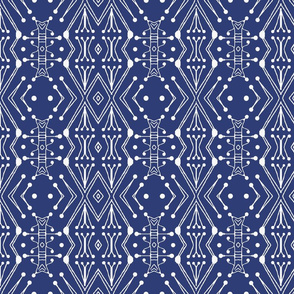 Tribal Drum Sticks, Navy Blue, large