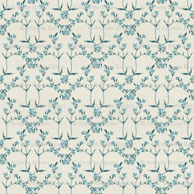 Diamond Pattern - A Little Blue