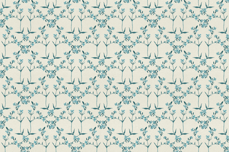 Diamond Pattern - A Little Blue fabric by afrancinedesign on Spoonflower - custom fabric