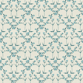 Diamond Pattern - A Little Blue