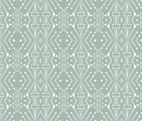 Rr1442_nursery-tribal-illustrator_12x12_green_shop_preview