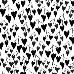 Falling 4U Black & White-Small