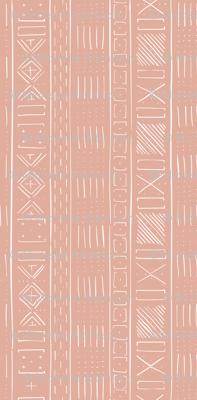 Mudcloth Medium (Dusty Pink)
