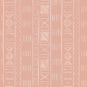 Mudcloth Medium (Dusty Pink)