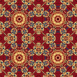 Persian Deep Colors Mosaic Tile