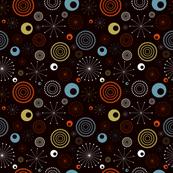 Modular 50's Science Designed on Black