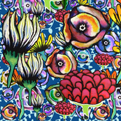 Flowers Pattern. 65 - Art Decor