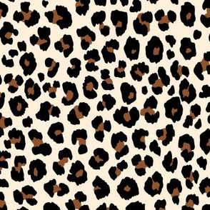 Leopard Ivory Brown