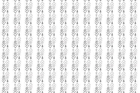 Geometric Sickles  - Ethnic Print fabric by afrancinedesign on Spoonflower - custom fabric