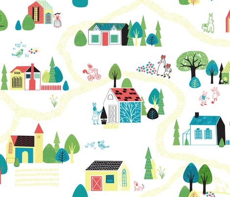 Storybook tale fabric by chris_jorge on Spoonflower - custom fabric