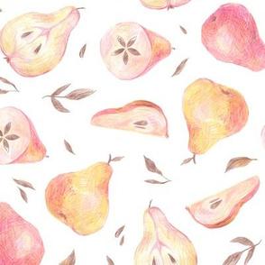 Rustic pears