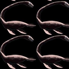 Elasmosaurus negative coloration