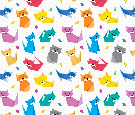 I don't like dogs; they are too easy to please fabric by indrajeet on Spoonflower - custom fabric