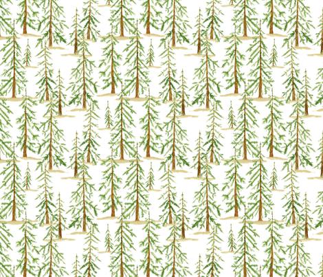 Christmas Tree Farm fabric by jillbyers on Spoonflower - custom fabric