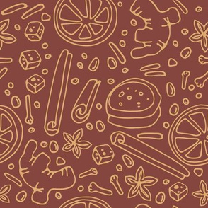 spices pattern