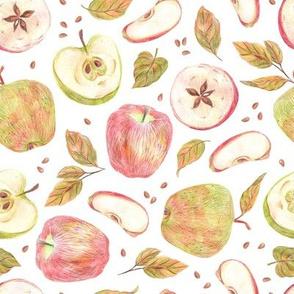 Rustic apples