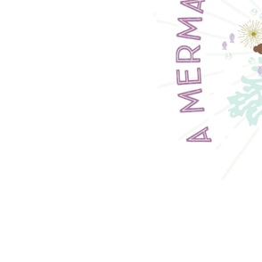 a mermaid sleeps here laguna mermaid changing pad cover