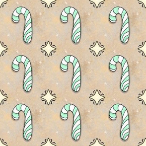 Christmas Candy Cane | Spearmint | Project 835.2