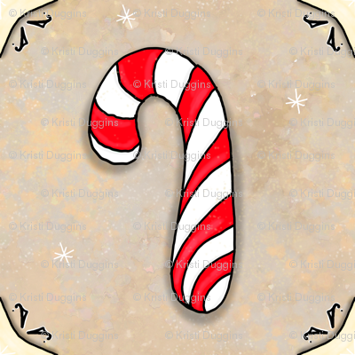 Christmas Candy Cane | Peppermint | Project 835.1