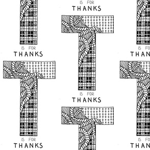 T for Thanks