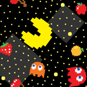 Pacman Pattern Abstract-01