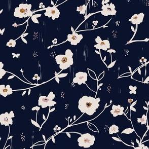 Indie Blue Floral