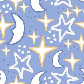 Sky Blue Stars