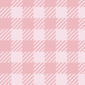 Gingham - Protea Pink