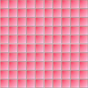 Gradient Pink Square Tiles
