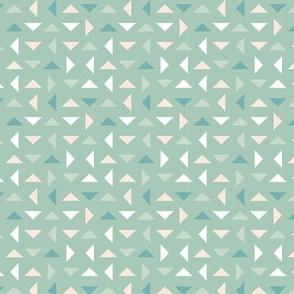 Coneflower Triangles - Light