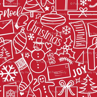 Crazy Christmas - Large