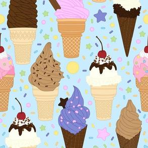 Ice Cream Frenzy // Pastel