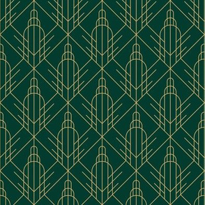 empire estate art deco pattern