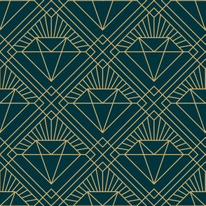 diamond art deco pattern
