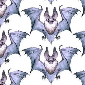 Watercolor Bat 2