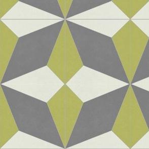 Mustard + Gray Diamond 2