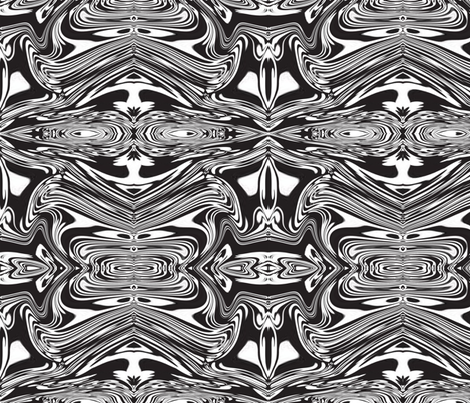 rorschach reminicent fabric by anisariansshade on Spoonflower - custom fabric