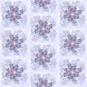 stars-snowflakes half-drop