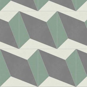 Green + Gray Diamond 3
