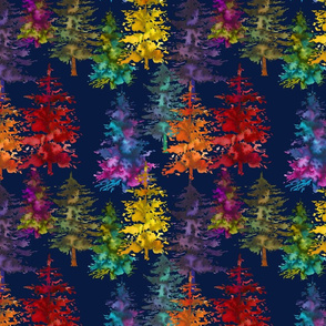 Magical Forest // Navy